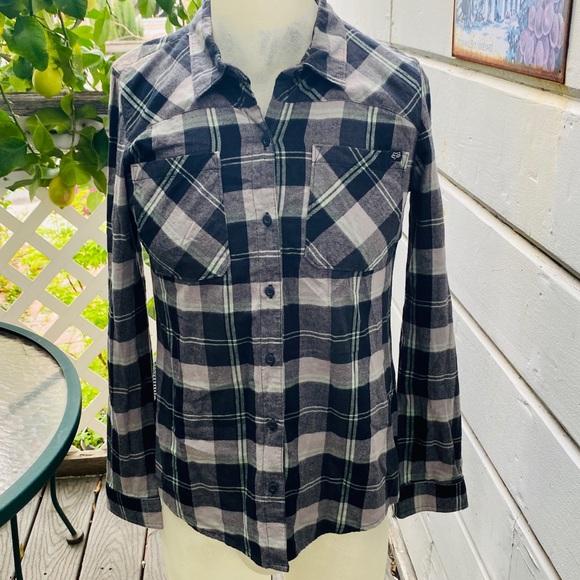 Fox Other - Fox Plaid Long Sleeve Button Up Shirt